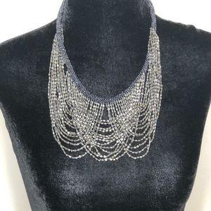 CATHERINE STEIN Multi-Strand Beaded Necklace